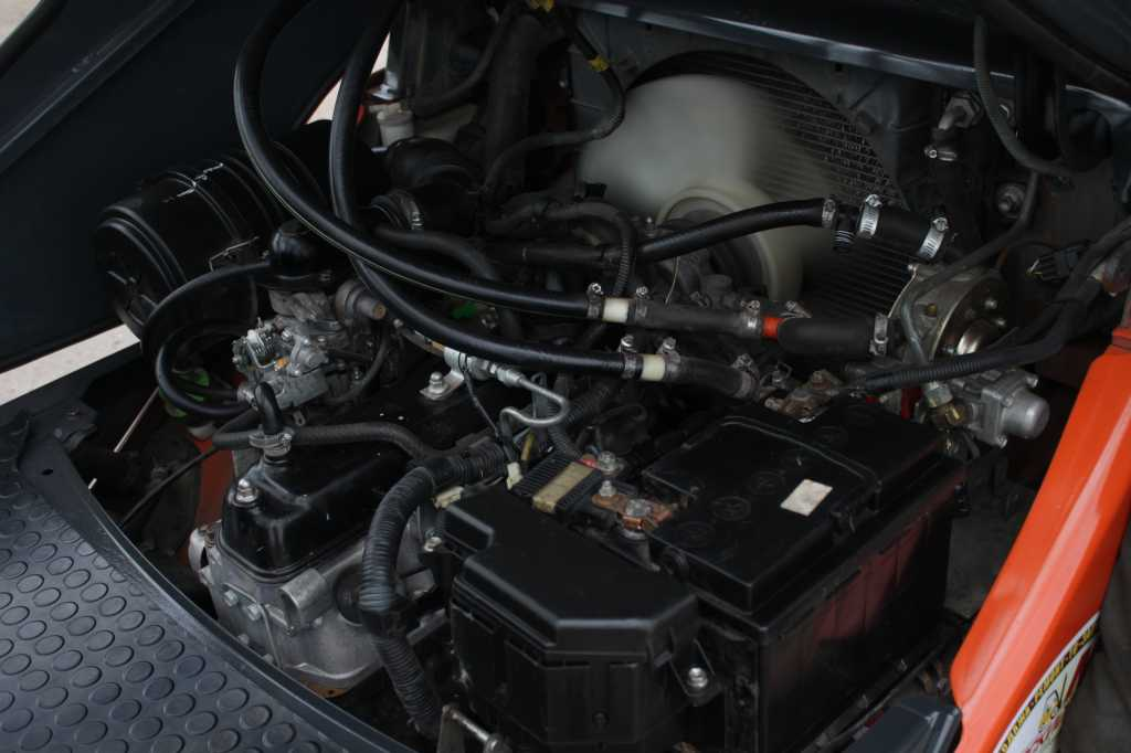 Вилочный бензиновый погрузчик Toyota 1.5 т 8FG15 в Москве. Фото 9
