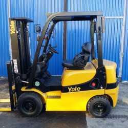 Вилочный бензиновый погрузчик Yale 1800 кг