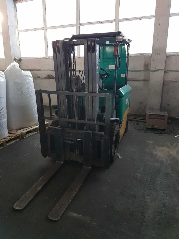 Электрический погрузчик 3 тонны Komatsu FB30-11 в Москве. Фото 4