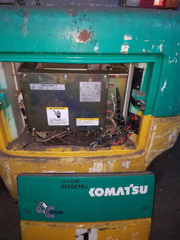 Электрический погрузчик 3 тонны Komatsu FB30-11 в Москве. Фото 9