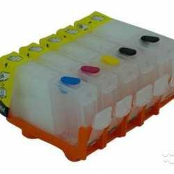 Пятицветные пзк на принтеры Canon Pixma