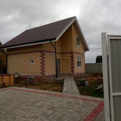 Продам дачу 2-этажный дом 110 м² ( пеноблоки ) на участке 10 сот. , Минское шоссе , 82 км до города