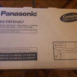 Panasonic KX-FAT410A/E(7) Тонер-картридж