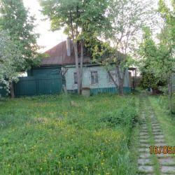 Продам дом 1-этажный дом 48 м² ( бревно ) на участке 8.5 сот. , Киевское шоссе , 24 км до города