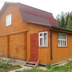Продам дачу 2-этажный дом 200 м² ( бревно ) на участке 6 сот. , Новокаширское шоссе , 70 км до города