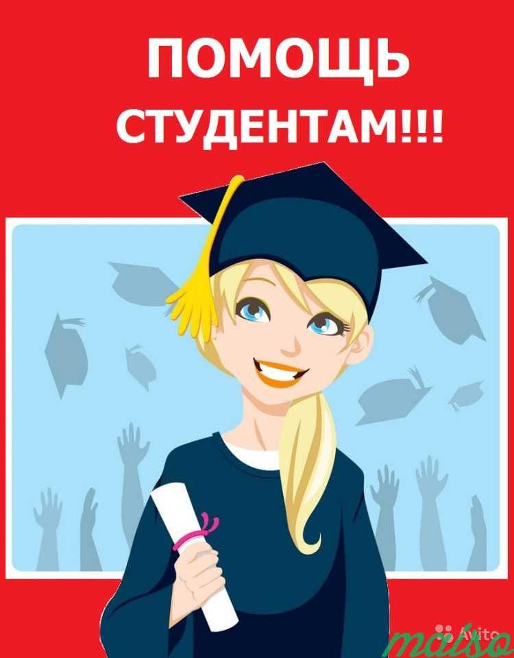 Днем, помощь студентам картинка
