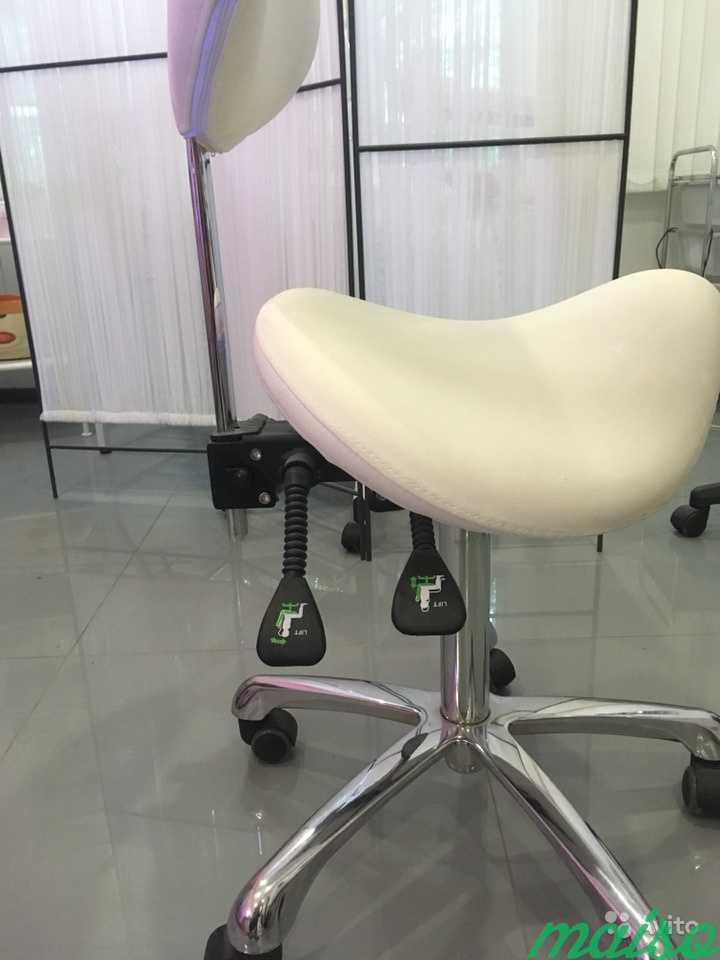 Стул ортопедический для мастера,оборудование для м в Москве. Фото 2