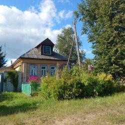Продам дом 1-этажный дом 70 м² ( бревно ) на участке 9 сот. , Щёлковское шоссе , 80 км до города