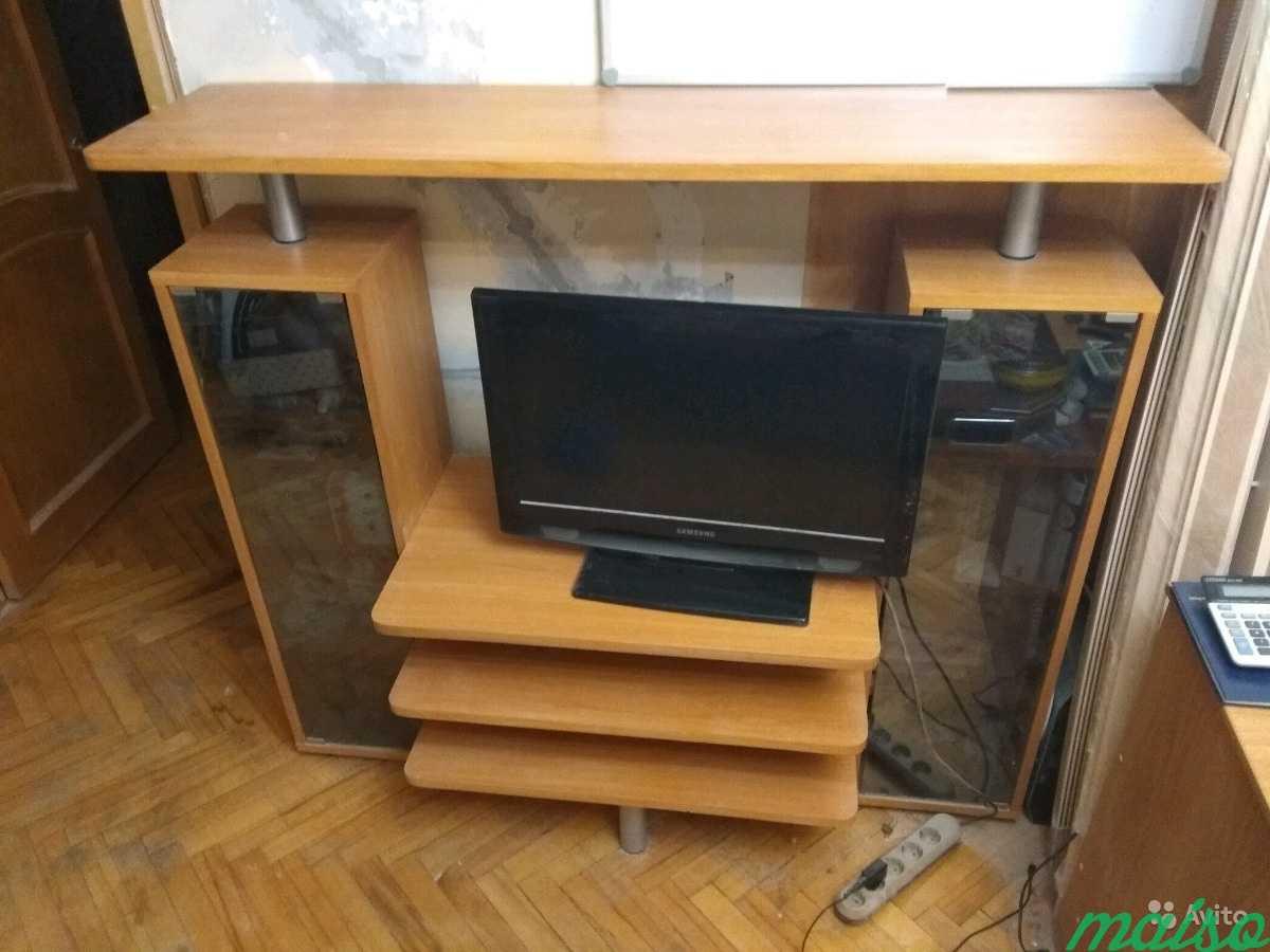 Стенка Полка под телевизор в Москве. Фото 3