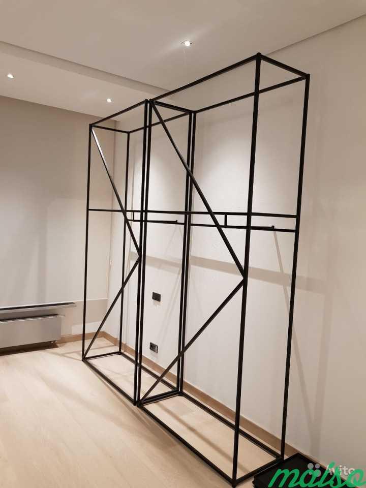 Продам лофт стеллаж для дома, магазина, шоурума в Москве. Фото 2