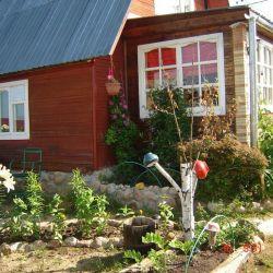 Продам дачу 2-этажный дом 160 м² ( бревно ) на участке 12 сот. , Ленинградское шоссе , 116 км до города