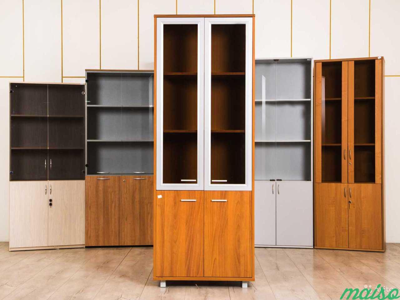 Шкаф офисный светлый в Москве. Фото 4