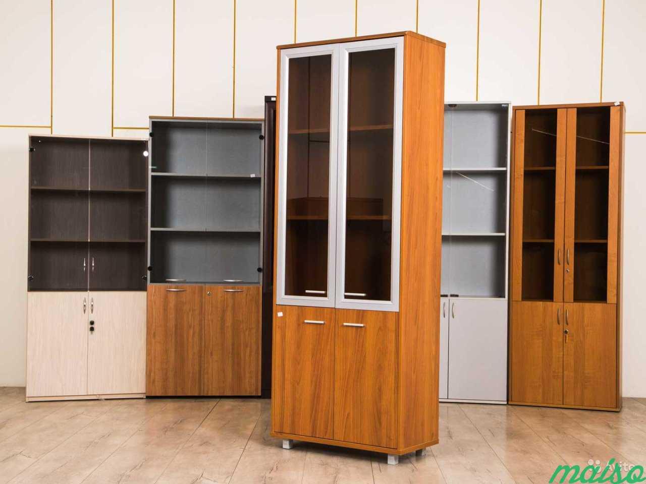 Шкаф офисный светлый в Москве. Фото 2