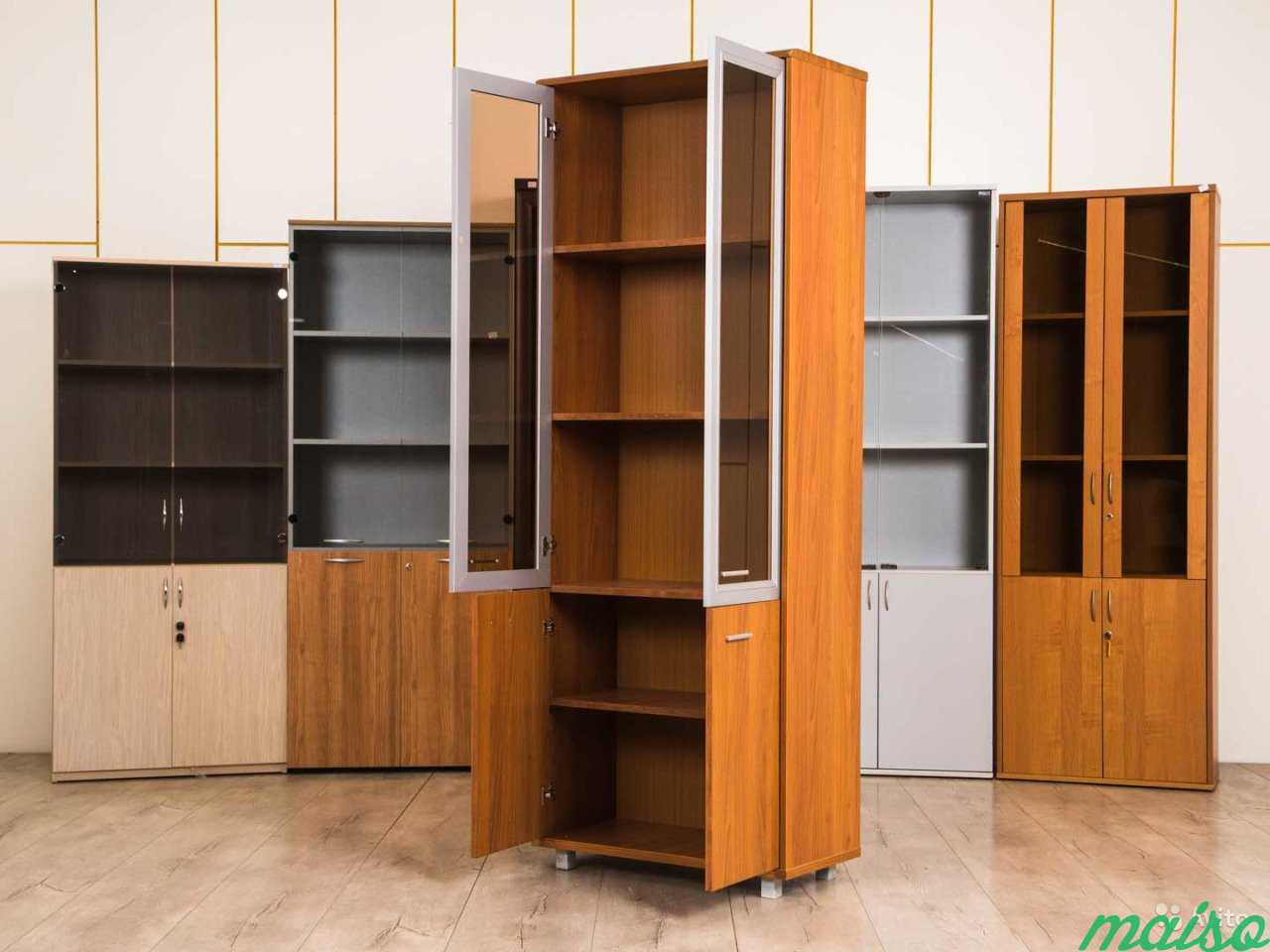 Шкаф офисный светлый в Москве. Фото 3