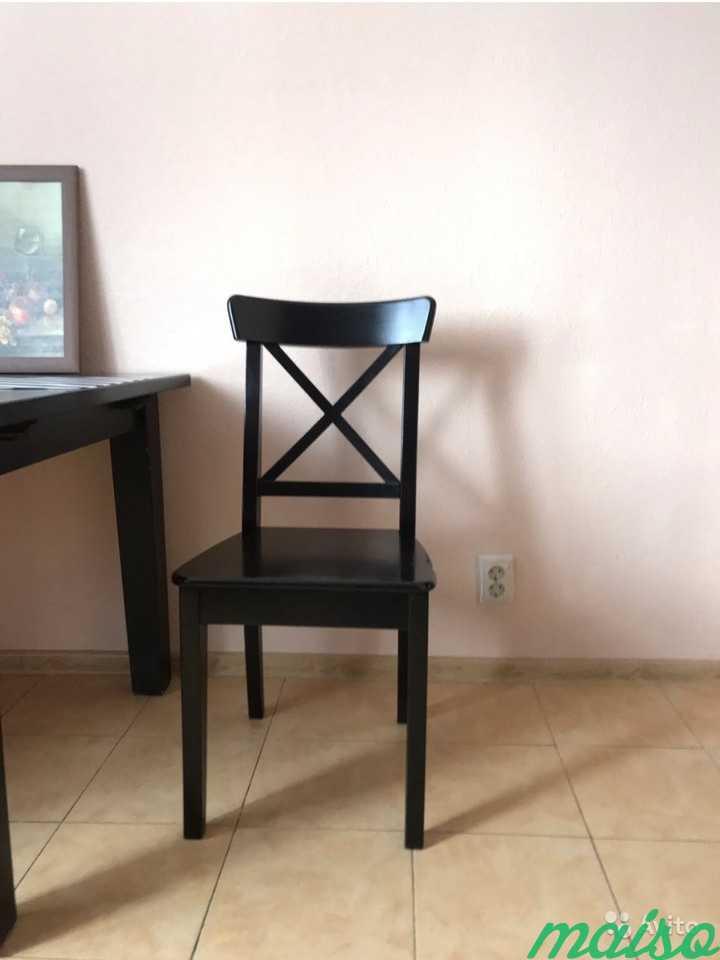 Стол и два стула IKEA в Москве. Фото 3