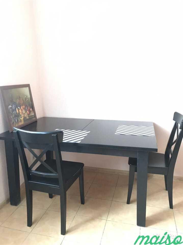 Стол и два стула IKEA в Москве. Фото 4