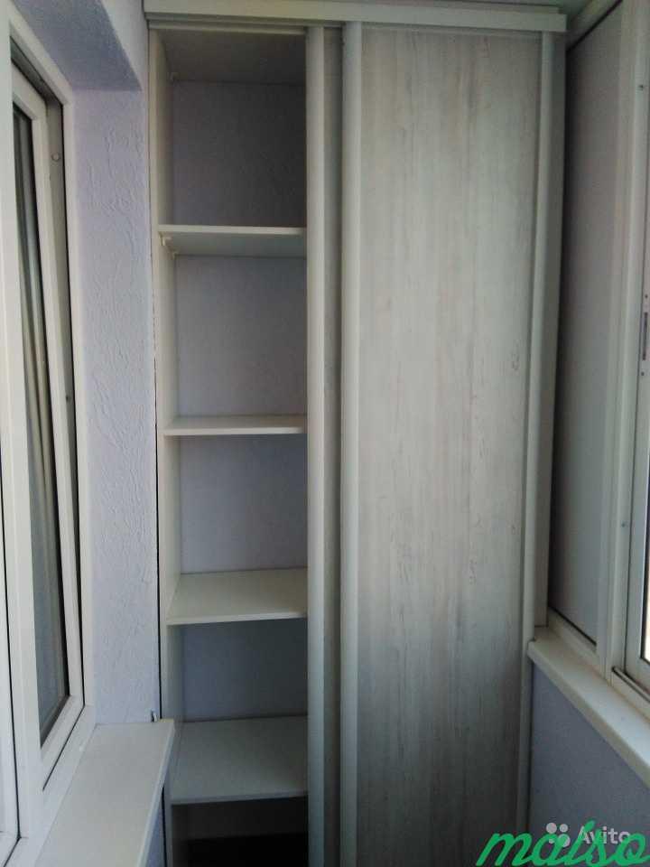 Шкаф на балкон в Москве. Фото 1