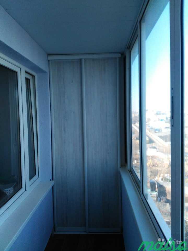 Шкаф на балкон в Москве. Фото 2