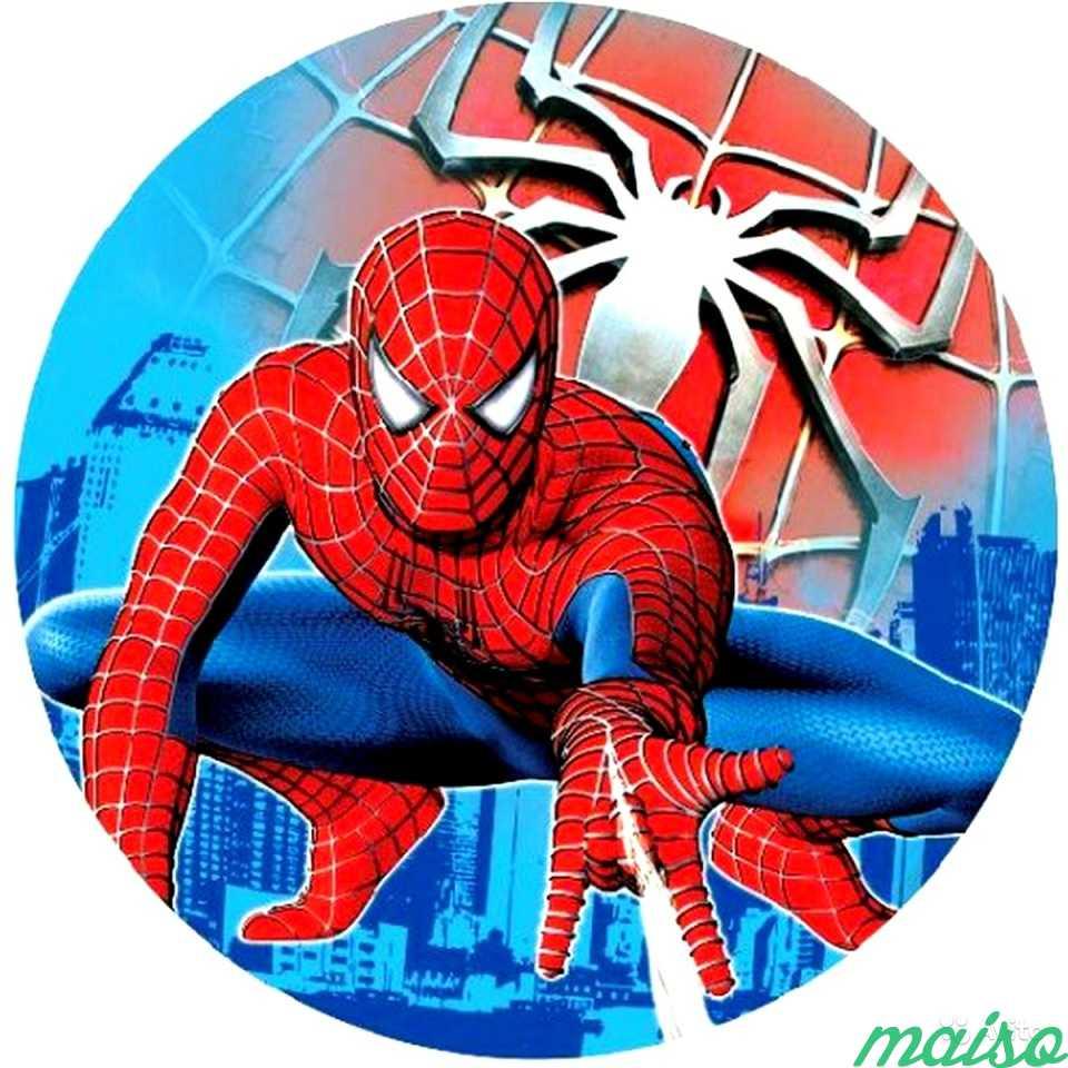 Картинка с человеком пауком круглая, картинки