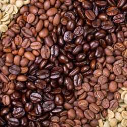 Обжарка зелёного кофе/помол кофе