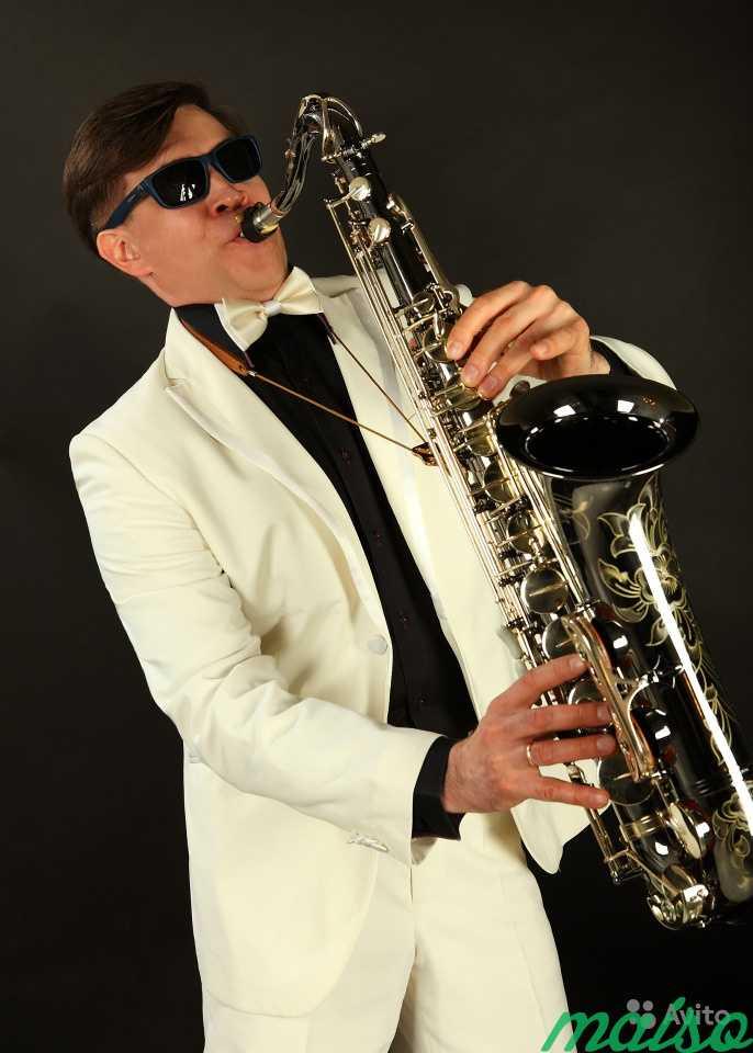 Фото саксофонистки с гитаристом — photo 9
