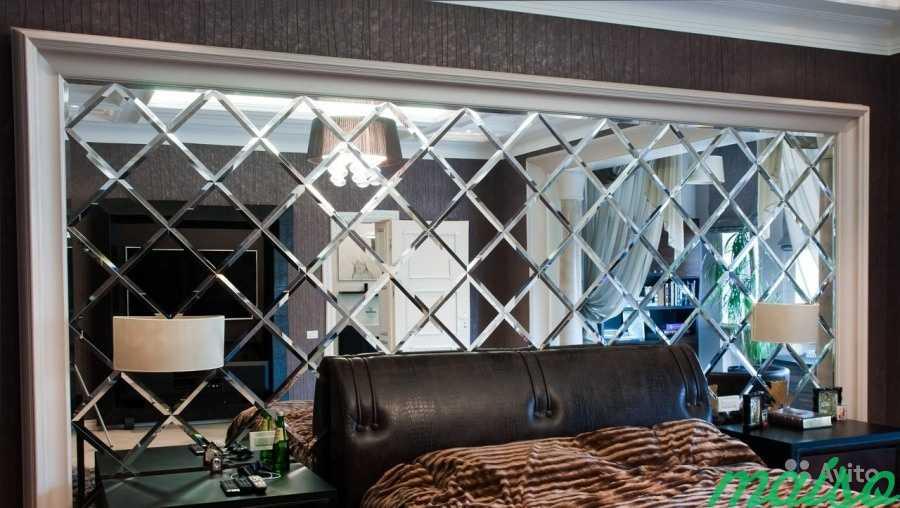 Зеркальные панно в Москве. Фото 3