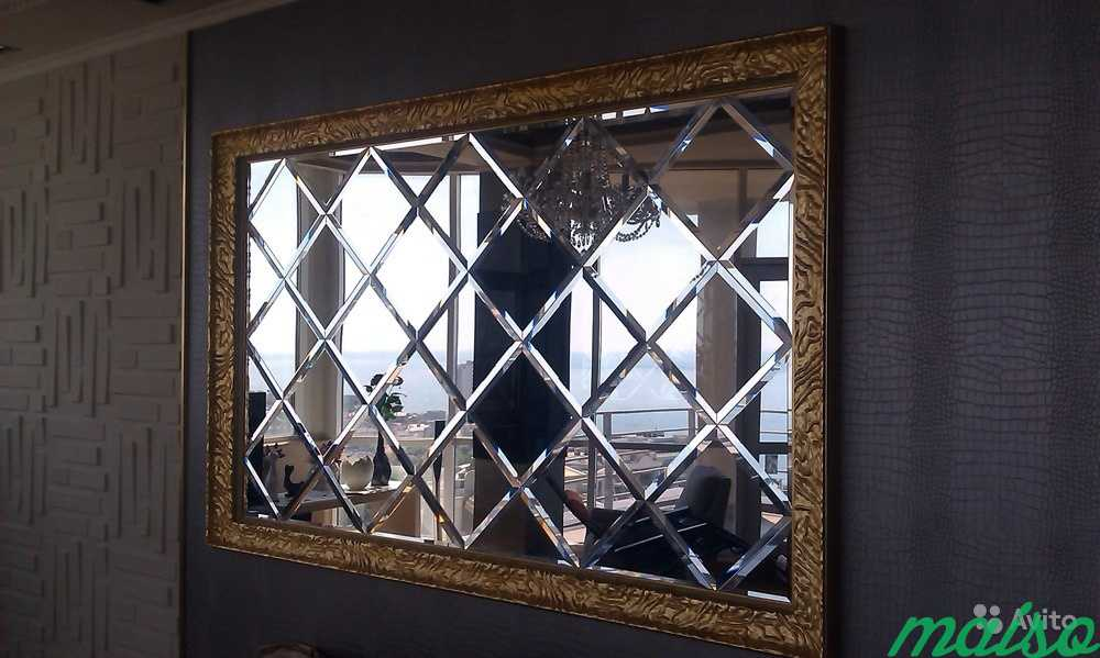 Зеркальные панно в Москве. Фото 4