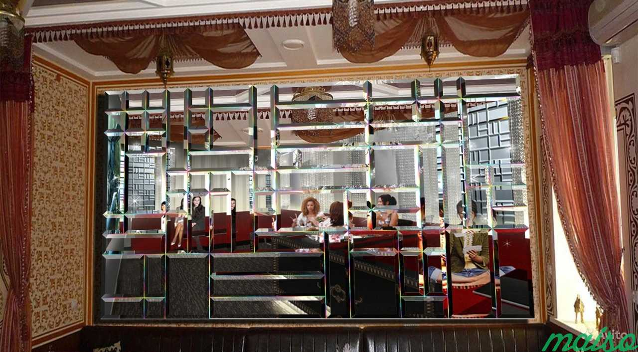Зеркальные панно в Москве. Фото 2