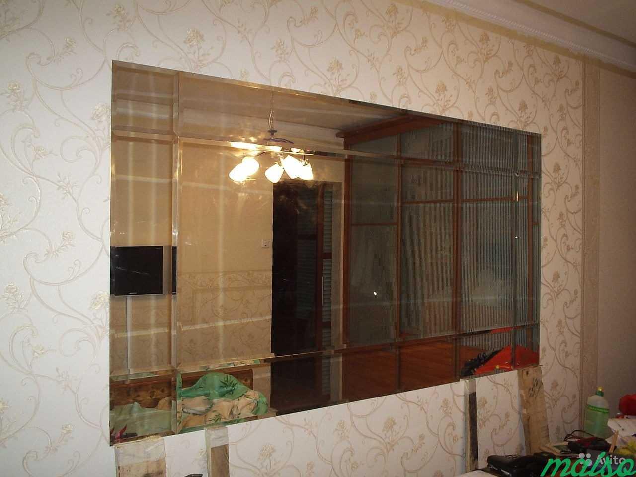 Зеркальные панно в Москве. Фото 6