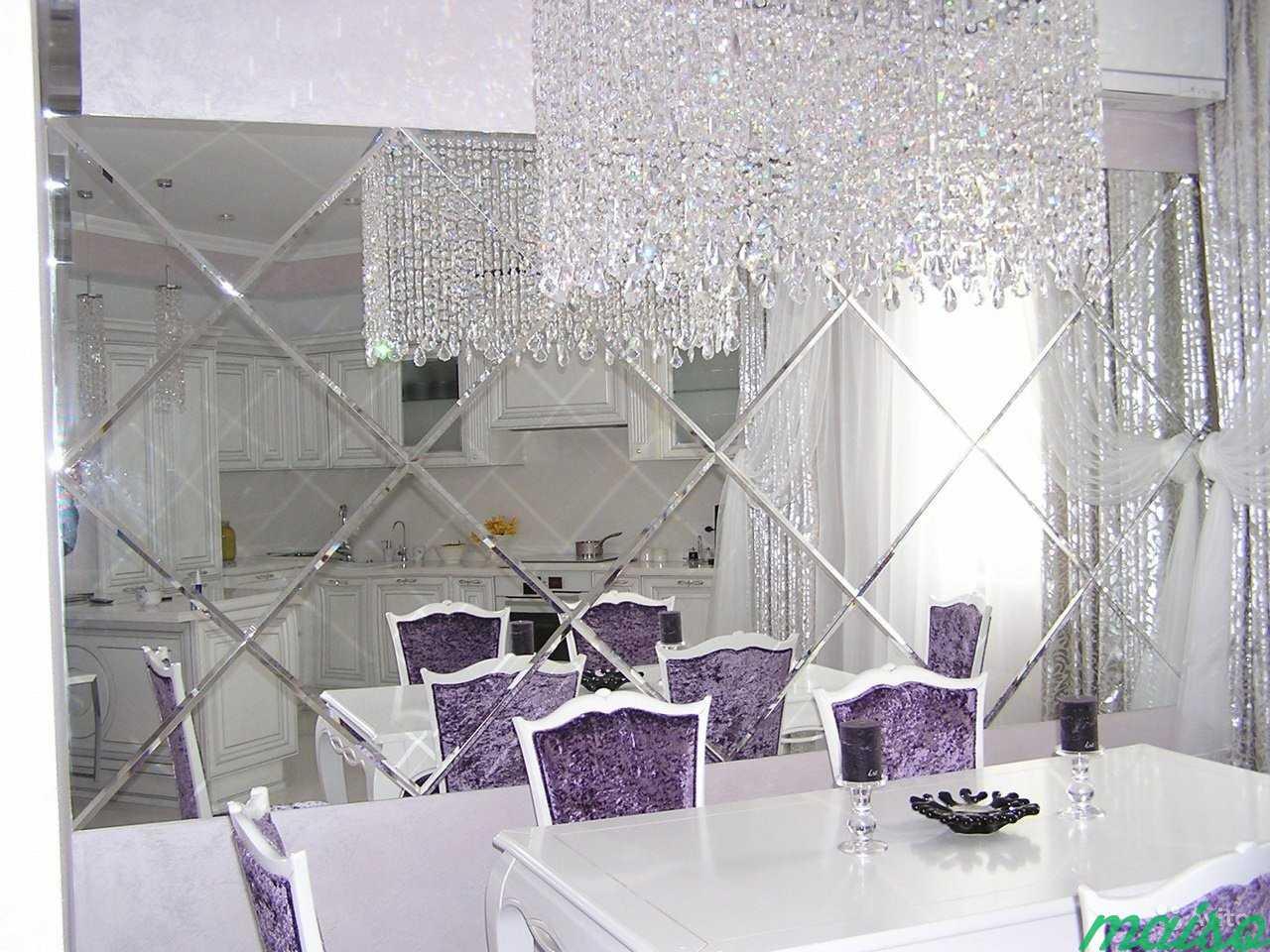 Зеркальные панно в Москве. Фото 1