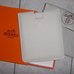 Чехол кожаный для iPad/iPAD2