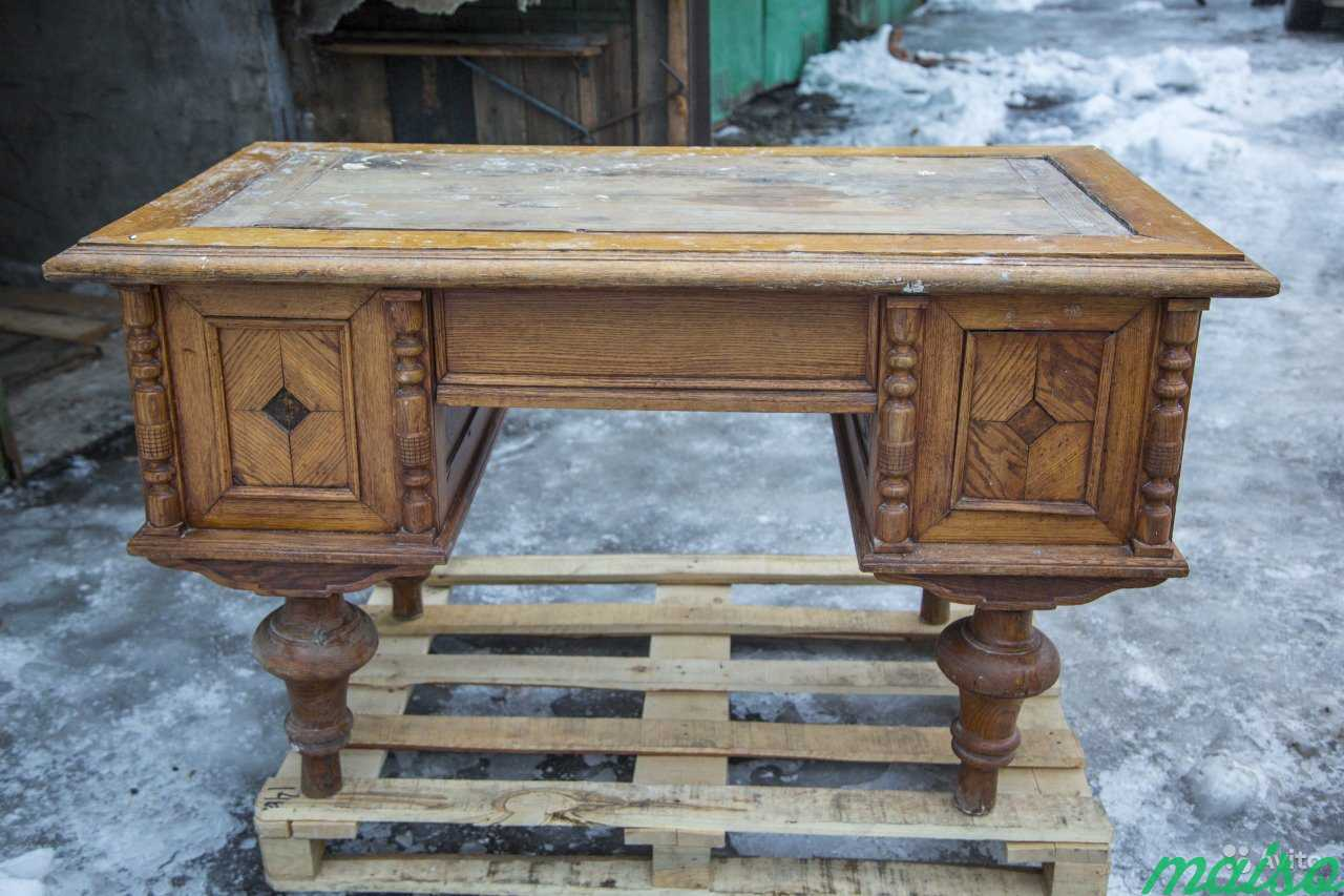 Антикварный стол в Москве. Фото 5