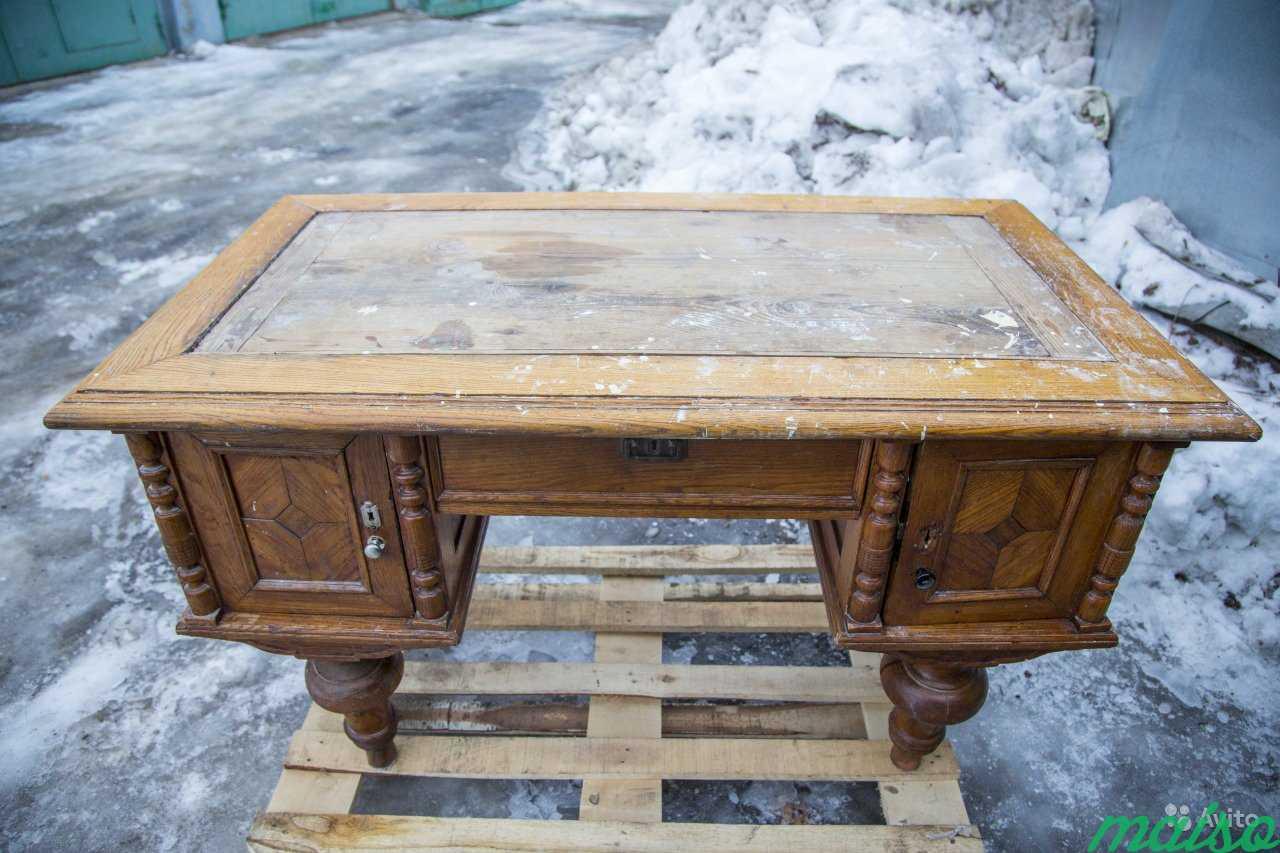 Антикварный стол в Москве. Фото 4