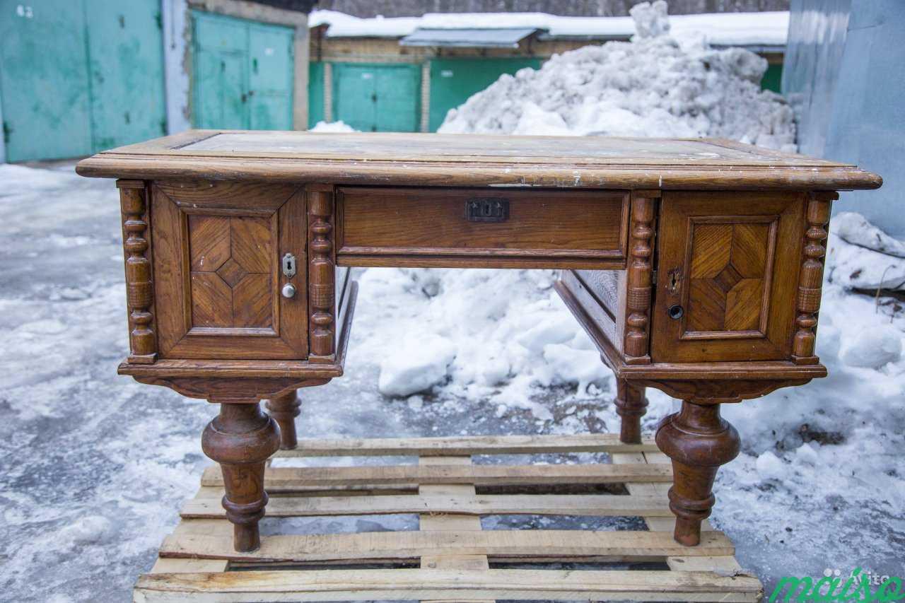 Антикварный стол в Москве. Фото 2