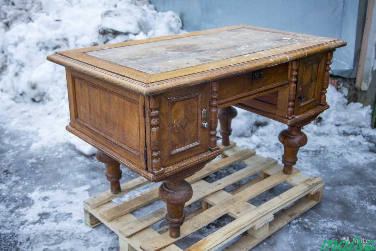 Антикварный стол в Москве. Фото 1