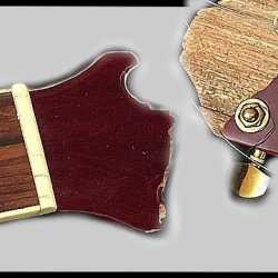 Ремонт грифа и колков гитары