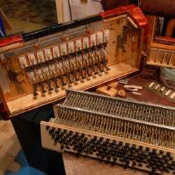 Ремонт аккордеон баян гармонь