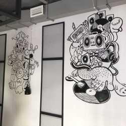 Роспись интерьеров, граффити