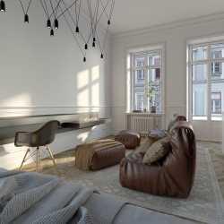 Архитектурная визуализация интерьера 3ds max + Cor