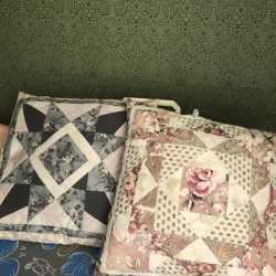 Подушки пэчворк и коврики в детскую