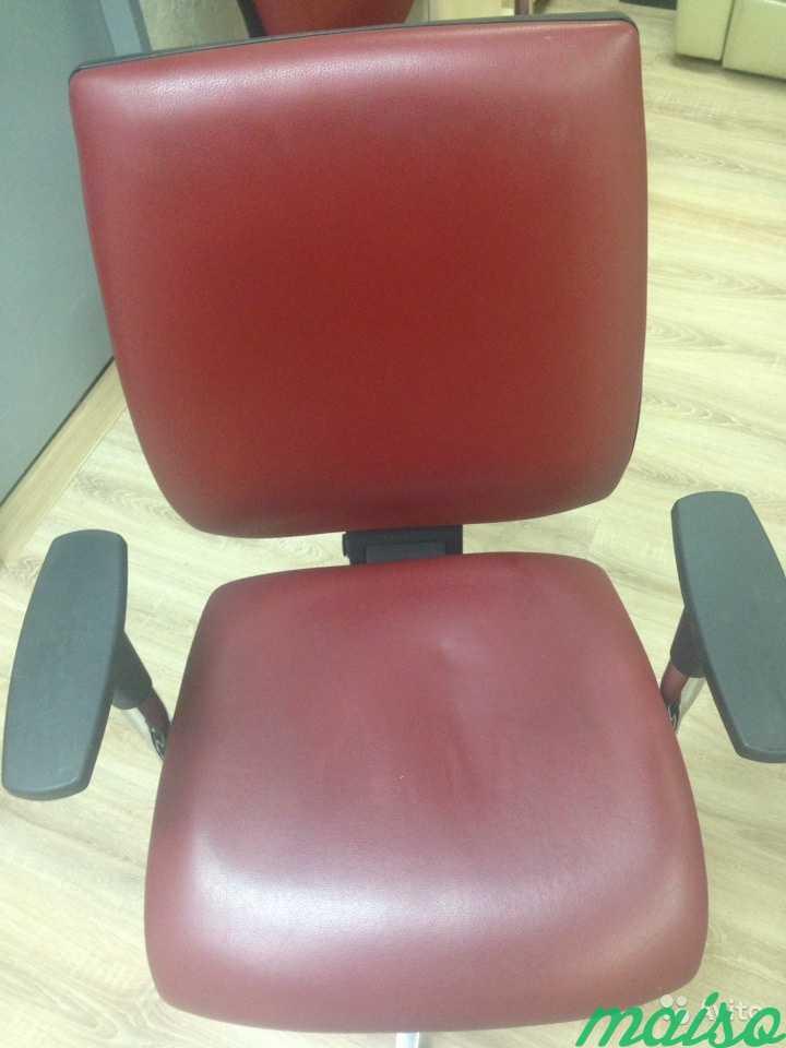 Кресло кожаное Kubix в Москве. Фото 1