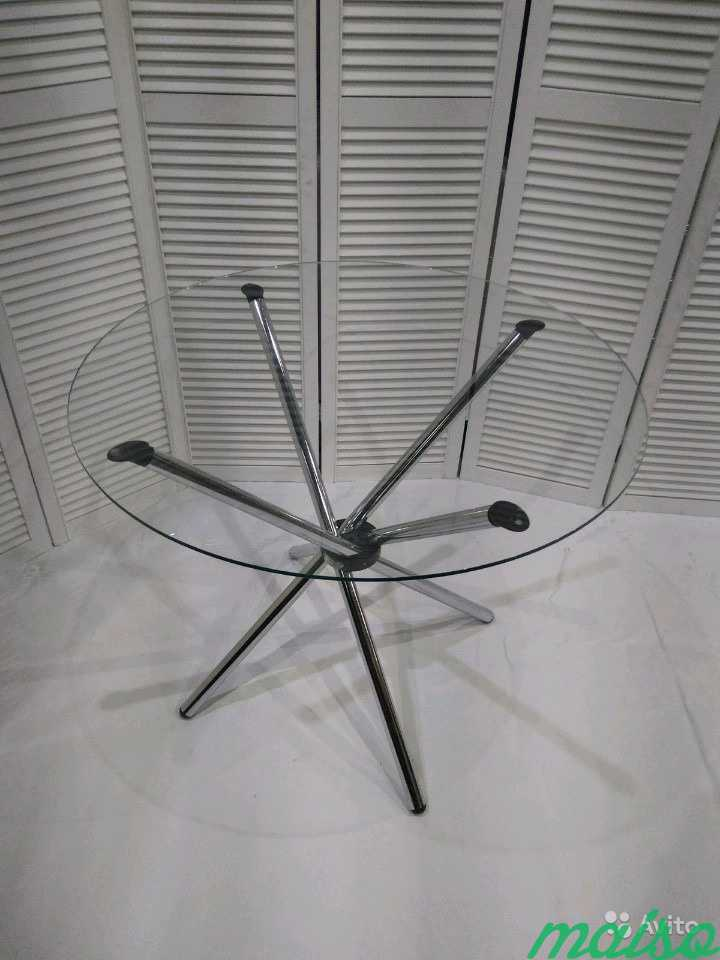 Стол Hydra Гидра диаметр 80 см в Москве. Фото 2