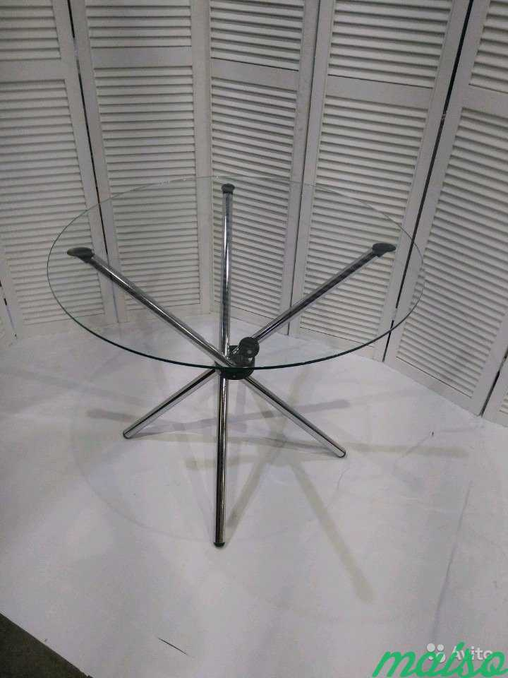 Стол Hydra Гидра диаметр 80 см в Москве. Фото 3