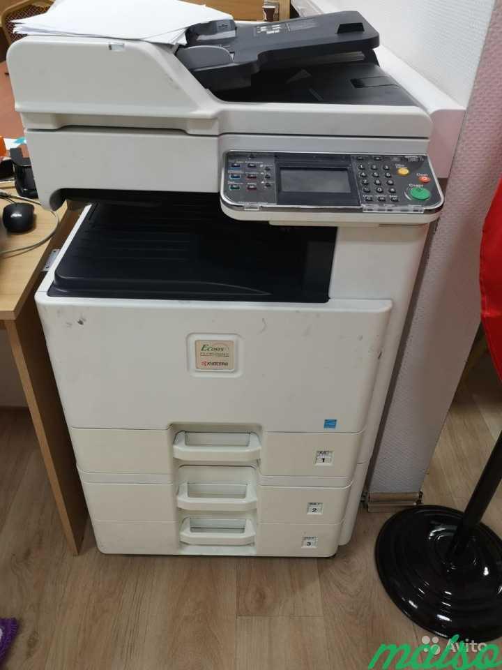 Цветной принтер мфу Kyocera Ecosys FS-C8525MFP в Москве. Фото 2