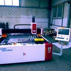 Оптоволоконный лазер 3х1,5-1 кВт рез до 10 мм стал