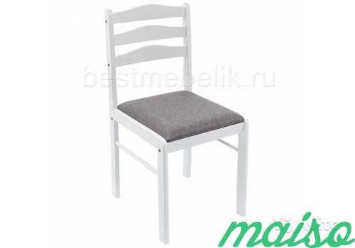 Деревянный стул Camel white light grey в Москве. Фото 1