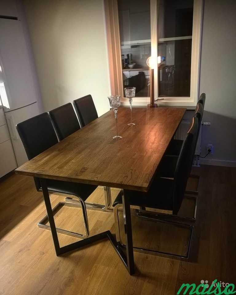 Обеденный стол в Москве. Фото 2