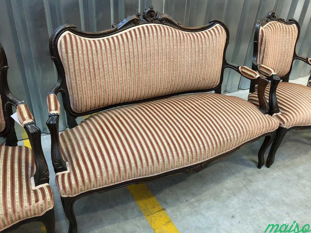 Комплект мебели.Кресло.стол.диван.Антиквариат.Евро в Москве. Фото 2