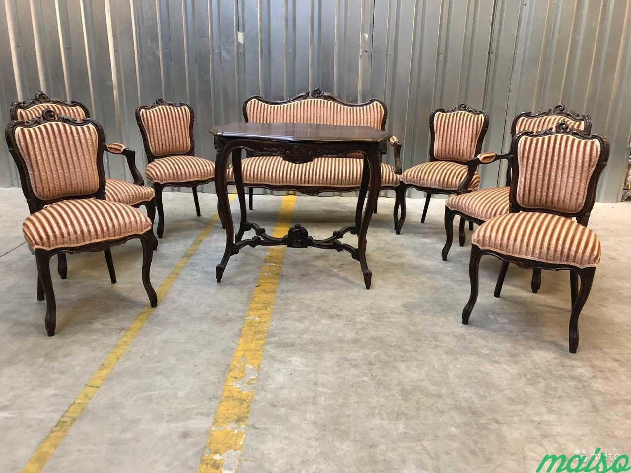 Комплект мебели.Кресло.стол.диван.Антиквариат.Евро в Москве. Фото 1