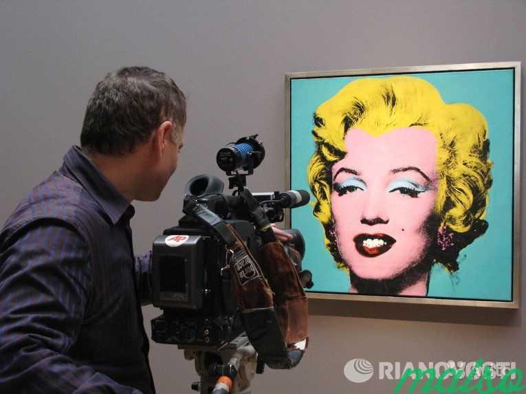 Картина Мерлин Монро Энди Уорхол в Москве. Фото 3